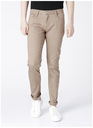 Aeropostale Aeropostale Erkek Koyu Kum Rengi Denim Pantolon Sarı